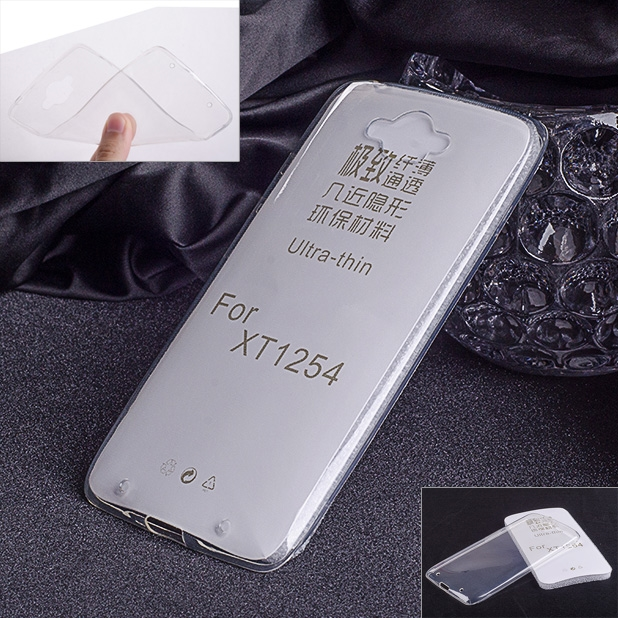 3.9$  Watch here - Transparent Soft TPU Clear Skin Case Ultra Thin Cover for Motorola moto DROID Turbo XT1254   #magazineonlinebeautiful