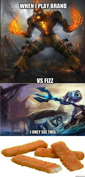 Fizz Vs Brand League Memes Funny Gif League Of Legends