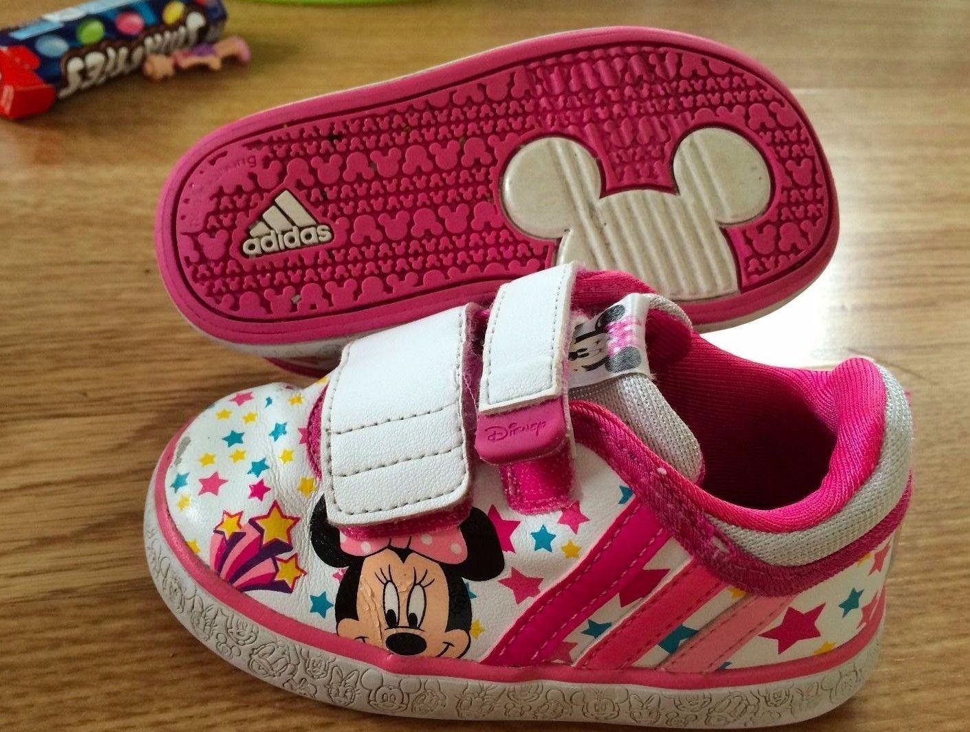 Cute Adidas 5k Shoes Mouse Minnie Infant Size Disney Trainers Girls nk08wXOP