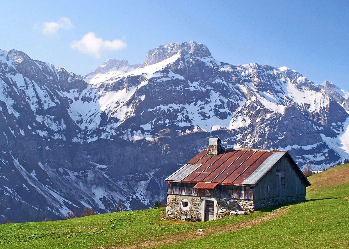 Alpages paysage montagne jolie paysage parapente - Chambre des notaires haute savoie ...