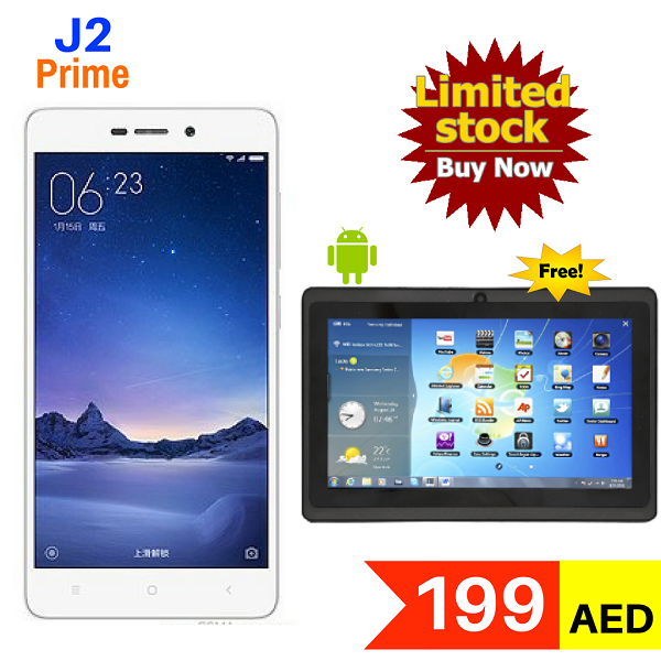 Buy J2 Prime 3g Dual Sim Mobile Get 7 Inch Wifi Android Tablet Free For Aed 199 Only Tel 045576800 What Dubai Shopping Dual Sim Buy Electronics