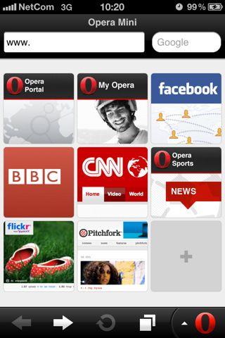 Opera Mini Web browser   UX   Web browser, App ui, Mobile design