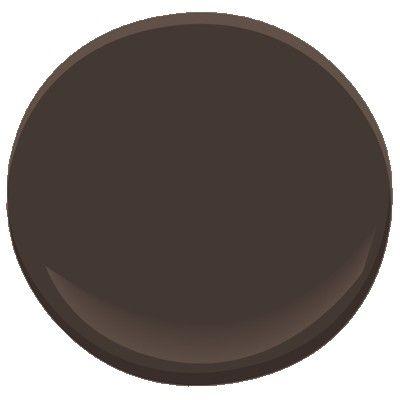 Benjamin Moore Bittersweet Chocolate 2114 10 Benjamin Moore Paint Benjamin Moore Wrought Iron Door Color