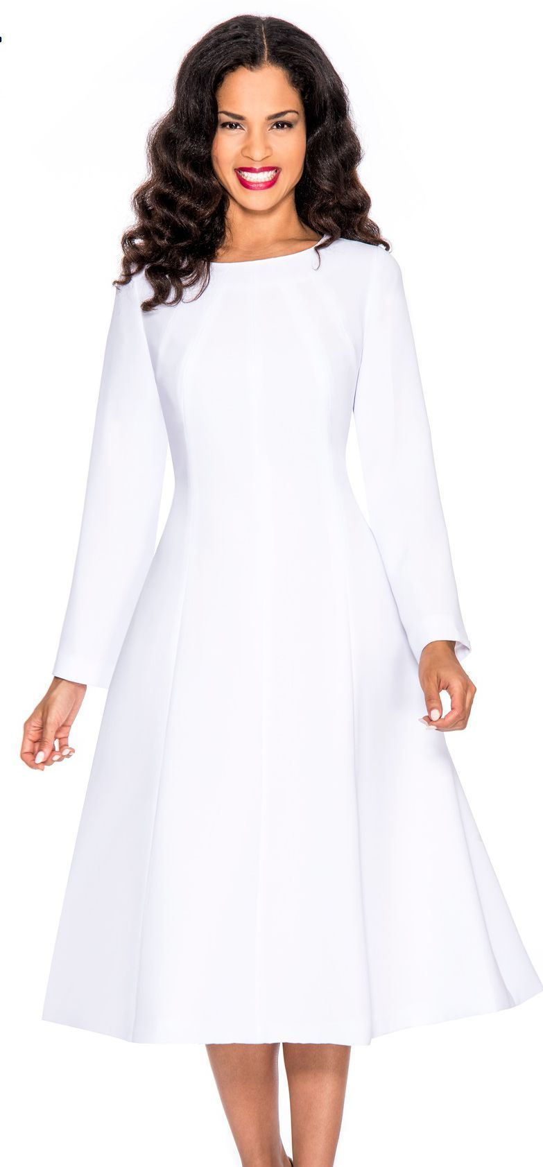 womens white dresses for church