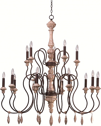 Attractive Maxim Lighting Lights   Maxim Lighting Chandelier Fixture Model 39611SW  Olde World 15 Light Chandelier