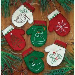 rachels of greenfield mittens ornament kit set of overstock shopping big discounts on rachels of greenfield quilting kits