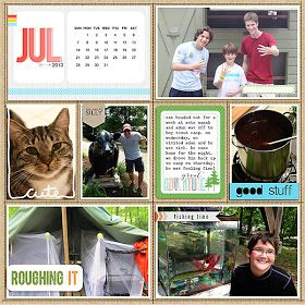 my life in lowercase: july project life