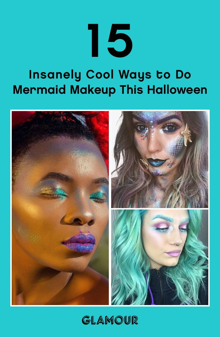 Insanely Cool Ways to Do Mermaid Makeup This Halloween in