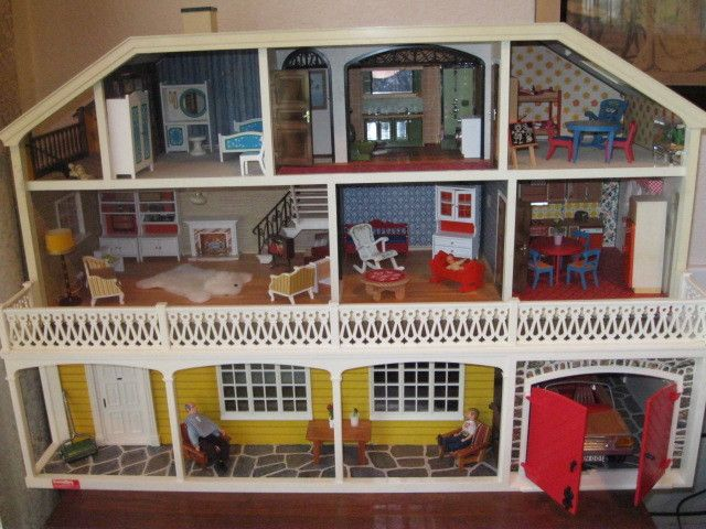 Vintage Lundby Dollhouse Dollhouses Playhouses House Dolls