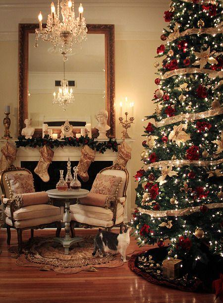 Christmas Home Decor Traditional Christmas Decorating