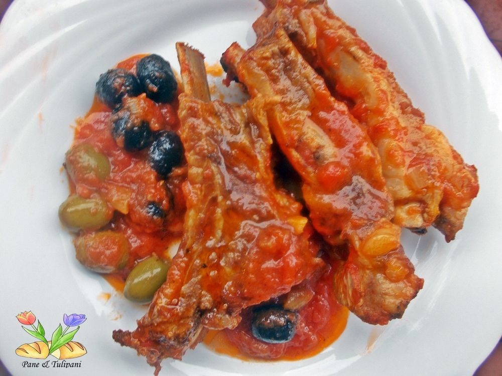 Photo of Stewed pork ribs with olives – Bread & Tulips