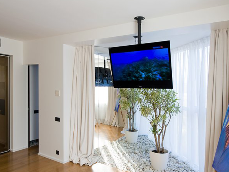 Perfect Tv Wall Mount From Ceiling 27 On Kids Ceiling Fans With Tv Wall Mount From Ceiling Tv Hanging From Ceiling Wall Mounted Tv Living Room Ceiling Fan