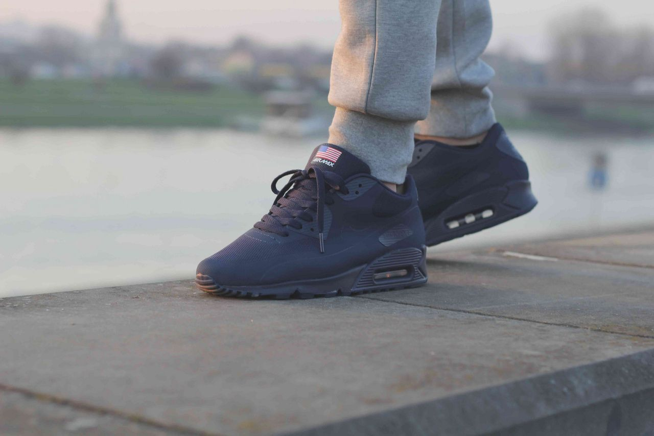 d1c024e7fc ... Nike Air Max 90 Hyperfuse Independence Day Navy ...