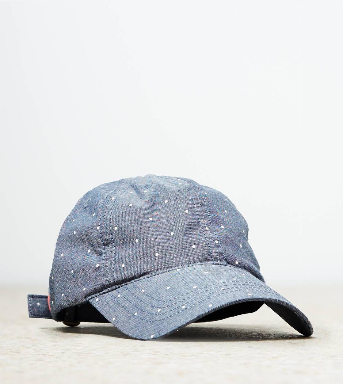 AEO Chambray Dot Baseball Hat 99211a3e0a17