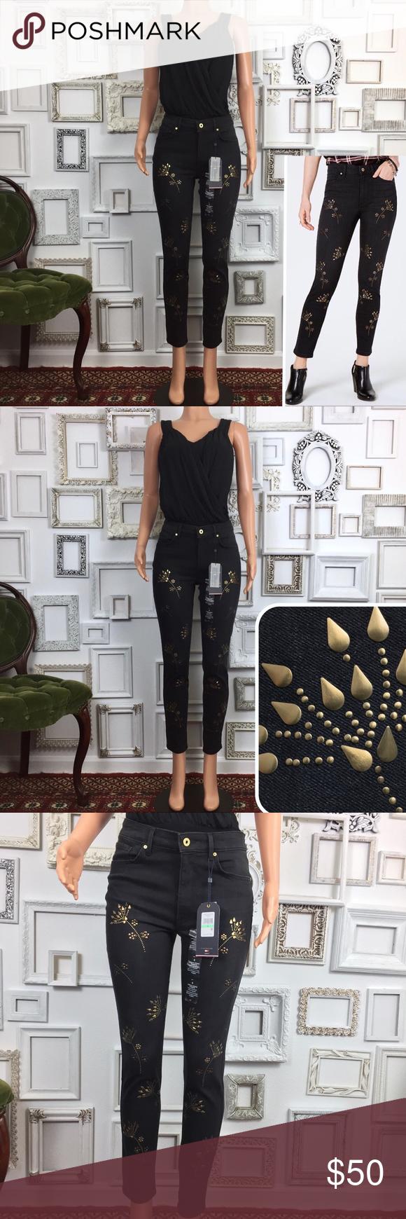 d5cb1f2de Tommy Hilfiger Tribeca Embellished Skinny Jeans 8 Condition: NWT. No flaws.  Description: