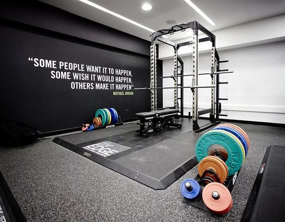 Pin By Megan Verhulst On Rooms Gym Room At Home Home Gym Garage Home Gym Decor