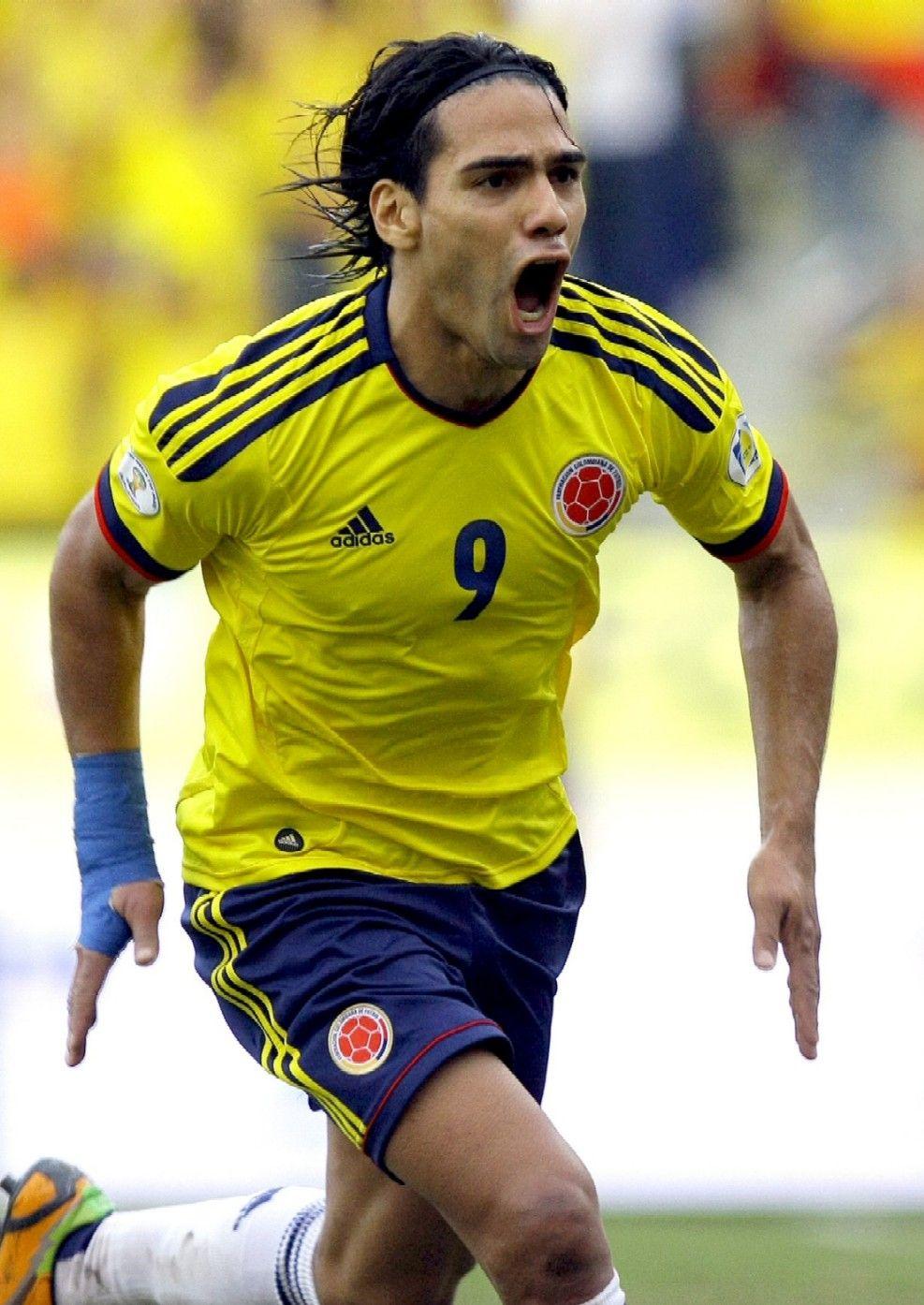Radamel Falcao Colombia National Team Seleccion Colombiana De