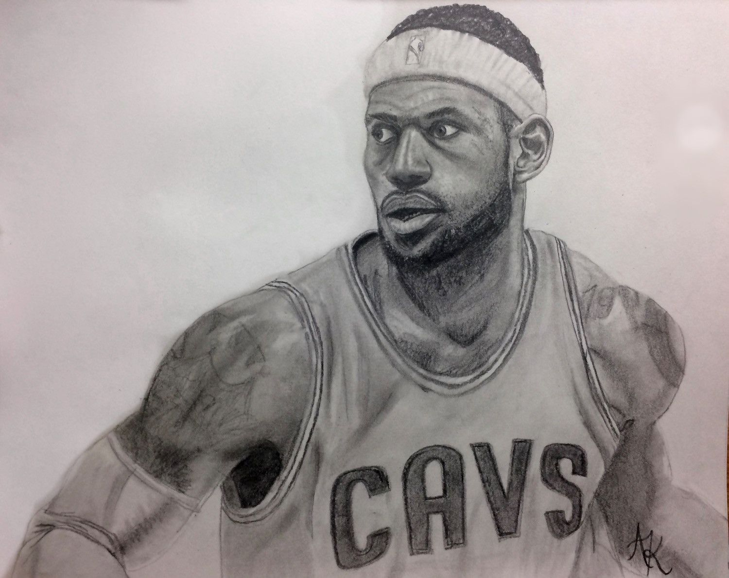 Lebron drawing contest
