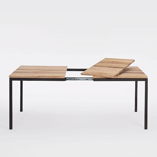 Box Frame Expandable Dining Table Westelm Expandable Dining