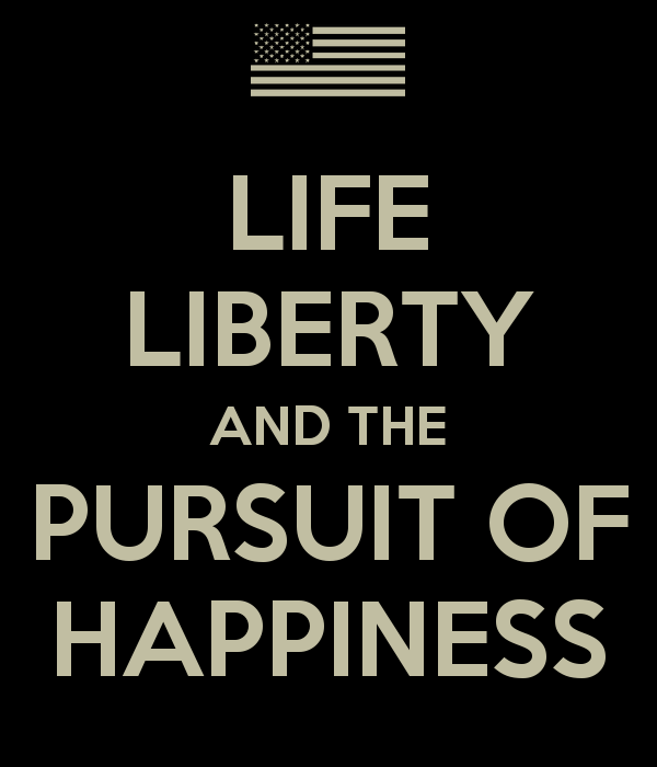 """Life Liberty And The Pursuit Of Happiness Quote Amusing Life Liberty And The Pursuit Of Happiness"""" Obama's"""