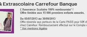 Carrefour Offre L Assurance Scolaire Aux Detenteurs De La Carte