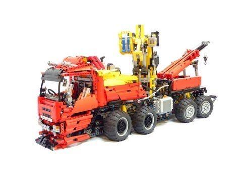 [MOC] Lego Technic MAZ 7907 24x24 Russian - Belarussian Truck 1:19 - YouTube