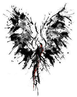 #Ink  #Phoenix  #Tattoo  #Tattoos  #Wings #ink, #tattoo,  Phoenix, ink, tattoo, wings   - Tattoos -