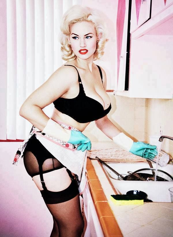 ec229127369 Gia Genevieve  3  pinup  kitchen  rockabilly  lingerie