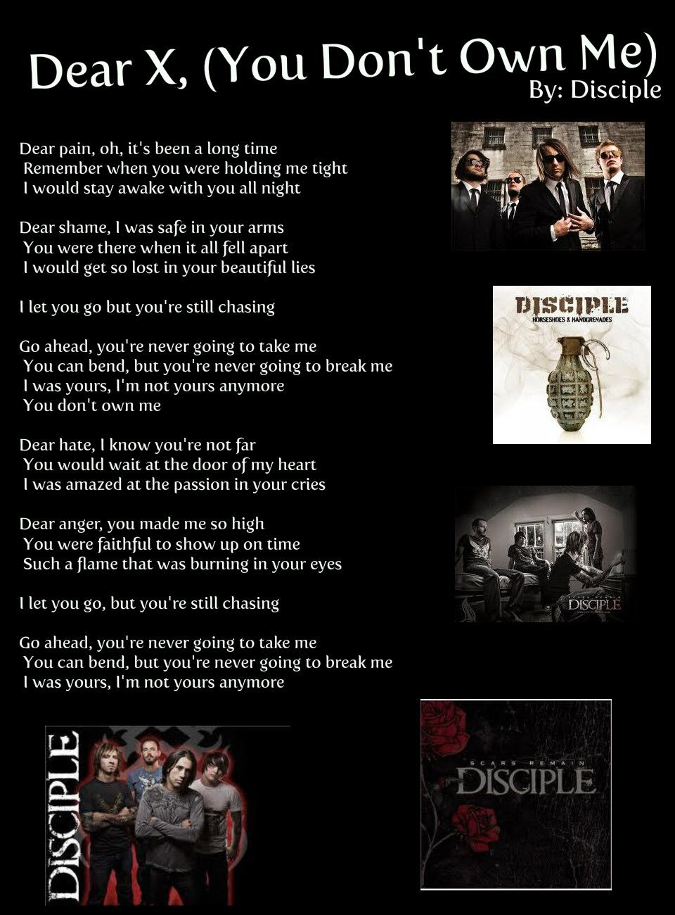 Pin by Charlotte Anderson on Quotes | Rock artists