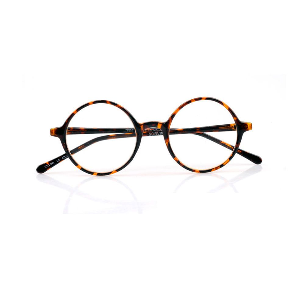 1920s Vinatage Oliver Retro Classic Eyeglasses Round Frames 19R0 Beige rubyruby