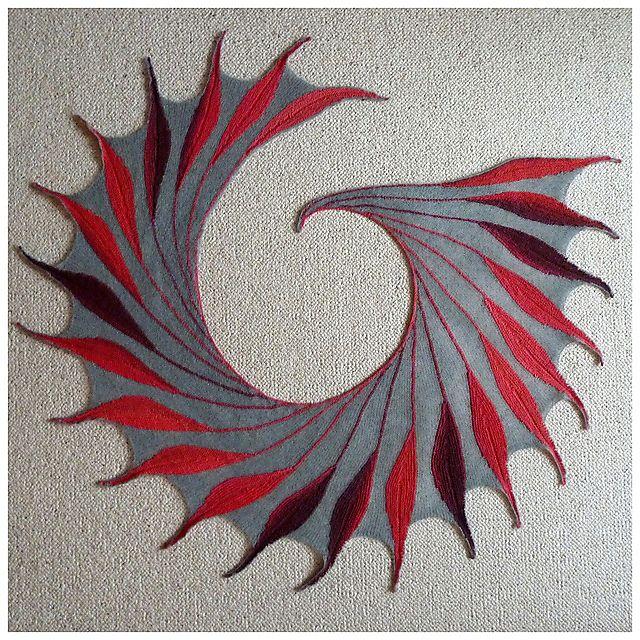 Dreambird KAL pattern by Nadita Swings | Ponchos tejidos, Capuchas y ...