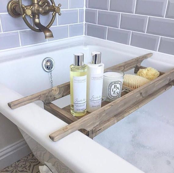 Wooden Bath Caddy | Woodworking Projects | Pinterest | Bath caddy ...
