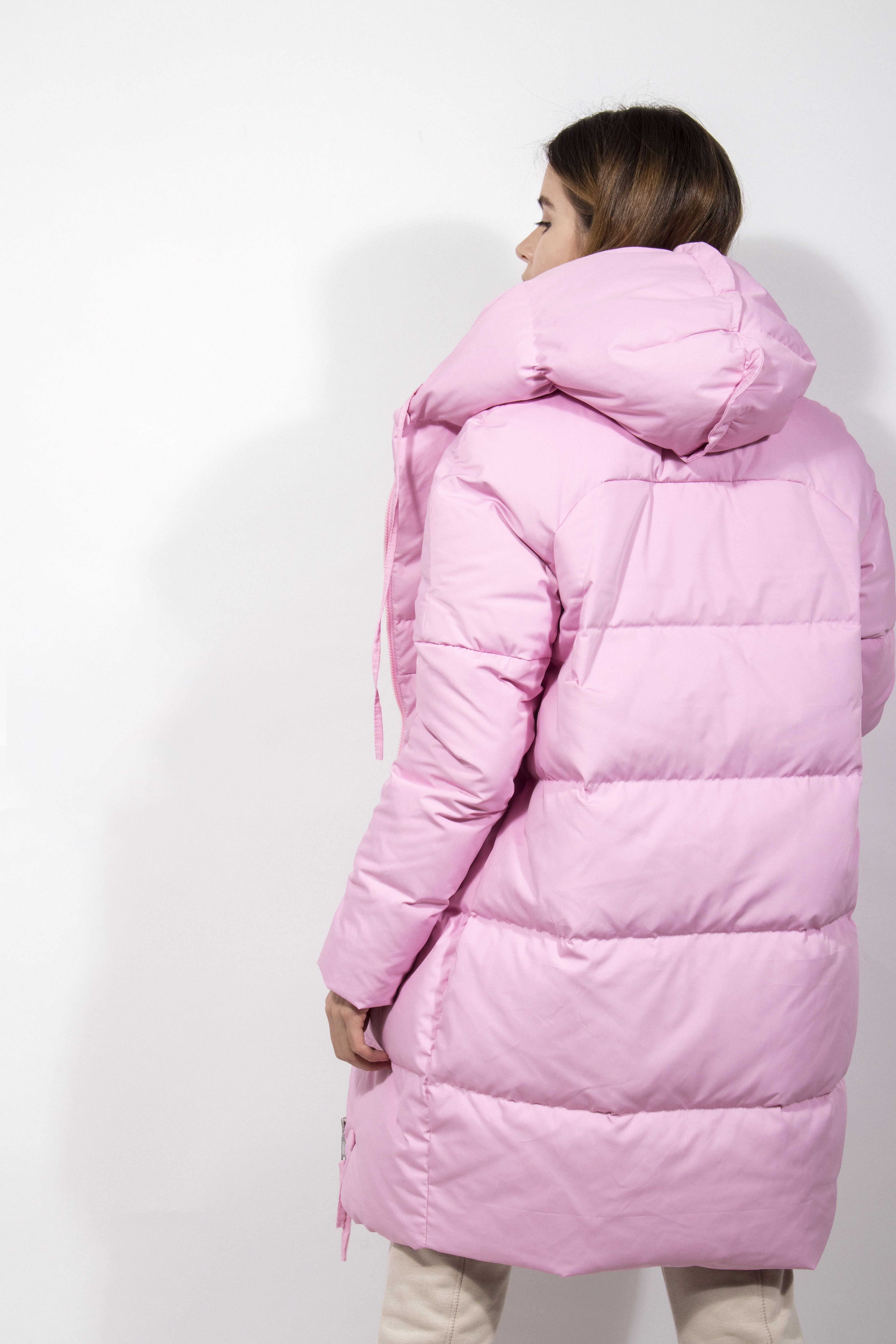Down jacket for women pink Unicorn. Down the goose 100% ...