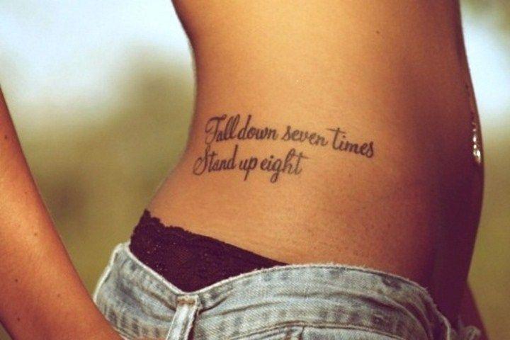 Tattoo Sprüche der Stars + 122 Ideen für Tattoo Schriftzug