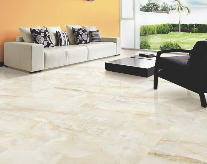 PERSIANO White Crema Vitrified Tiles