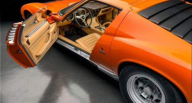 1971 Lamborghini Miura P400 Sv Classic Driver Market