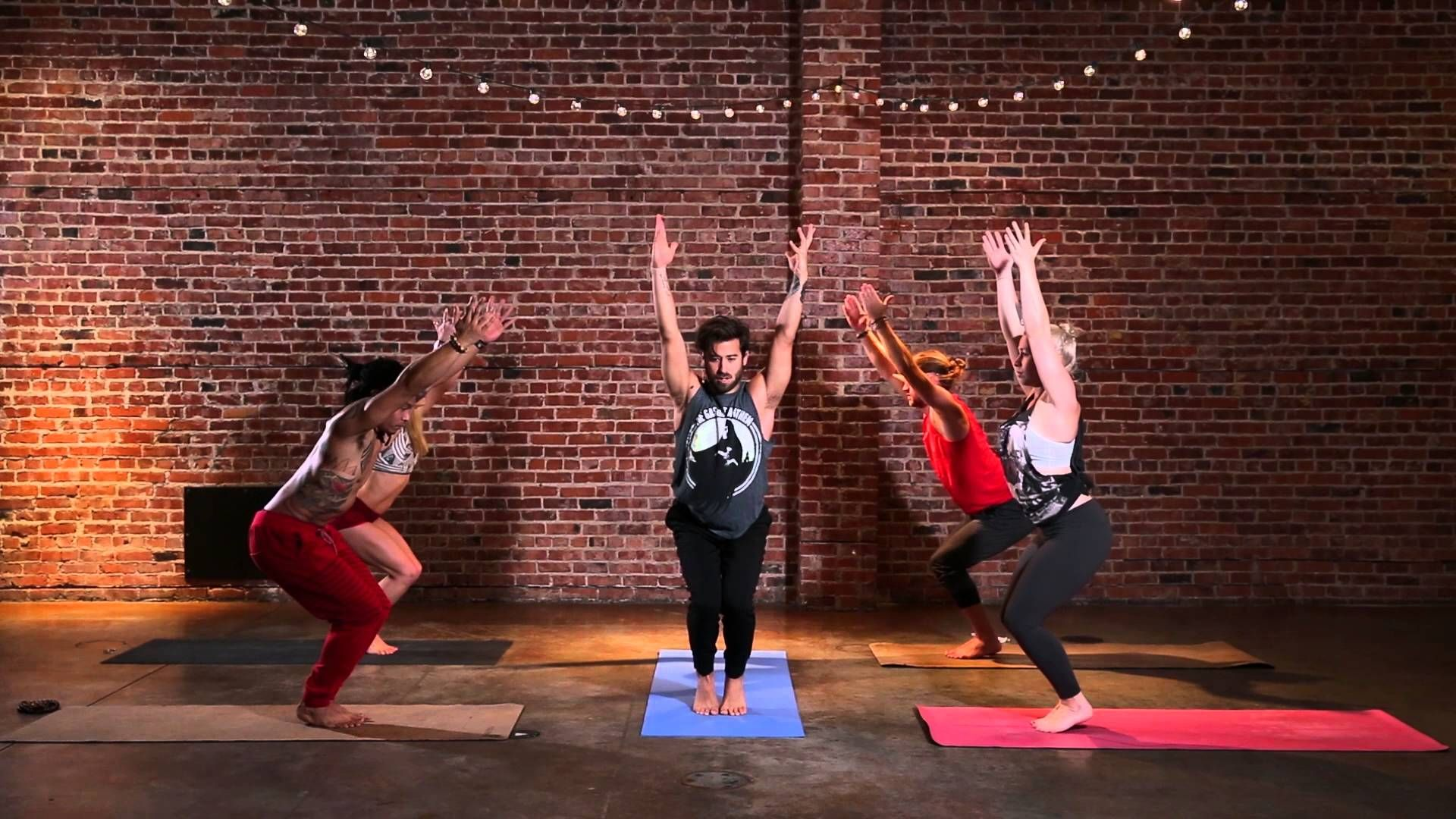 Yoga Intermediate Advanced Vinyasa