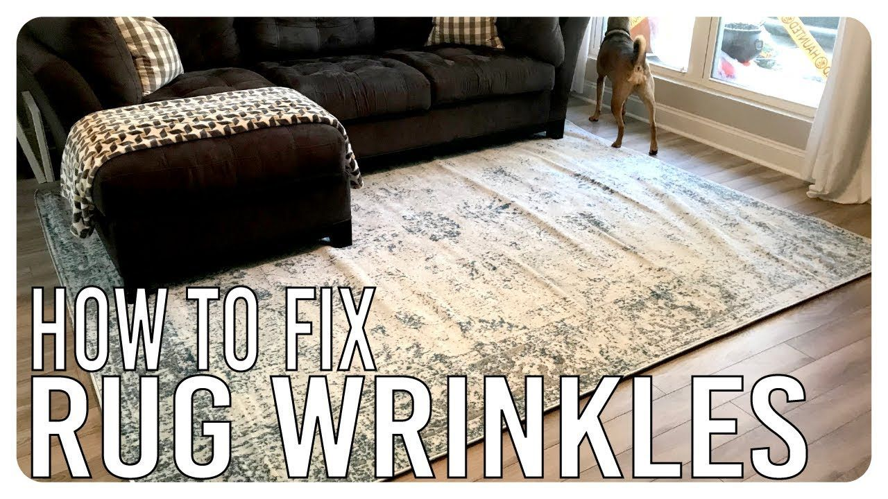 How To Get The Folds Out Of A New Rug