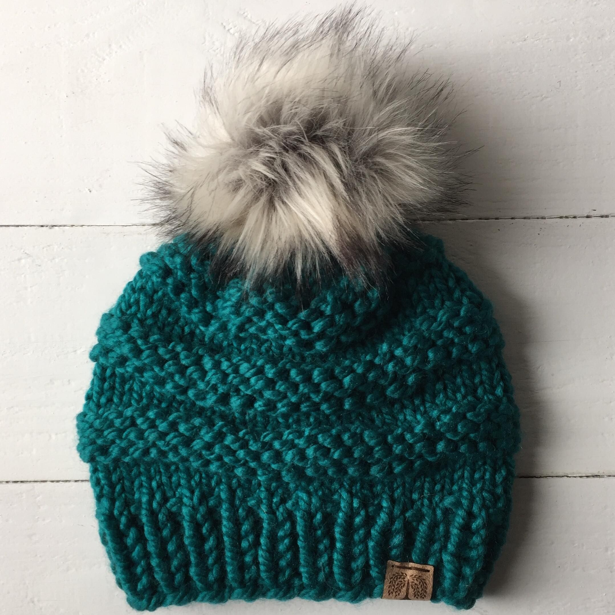 Thick   Thin Textured Beanie. Wool or non wool. Fall or winter. Faux ... e657131aae1