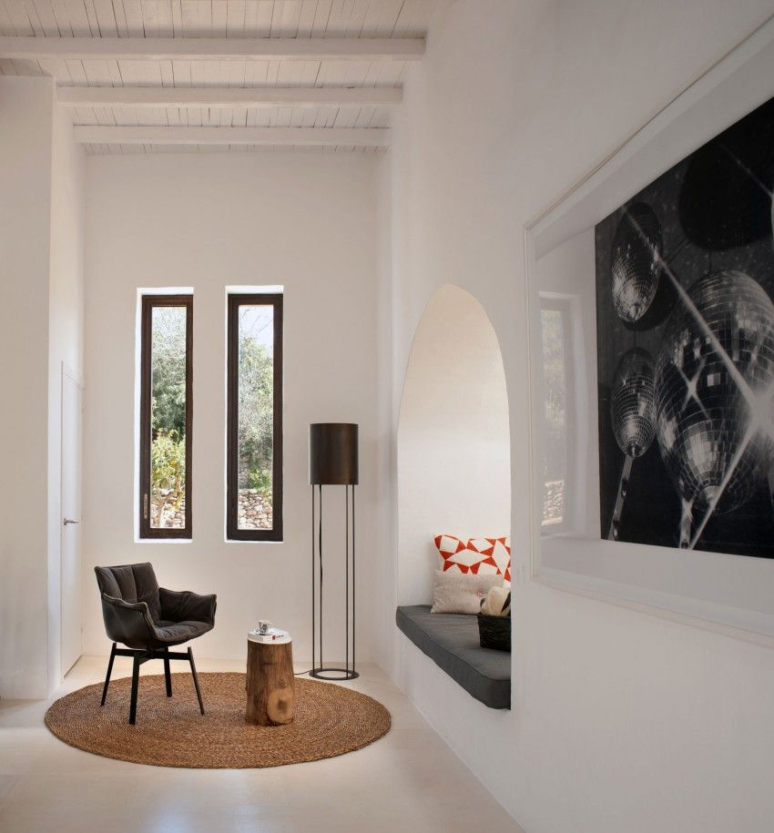 Elegant and stylish home in the baleares also studio living spaces rh pinterest