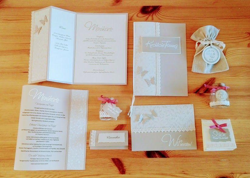 DIY Hochzeitskarten Der Serie Mille Fleurs