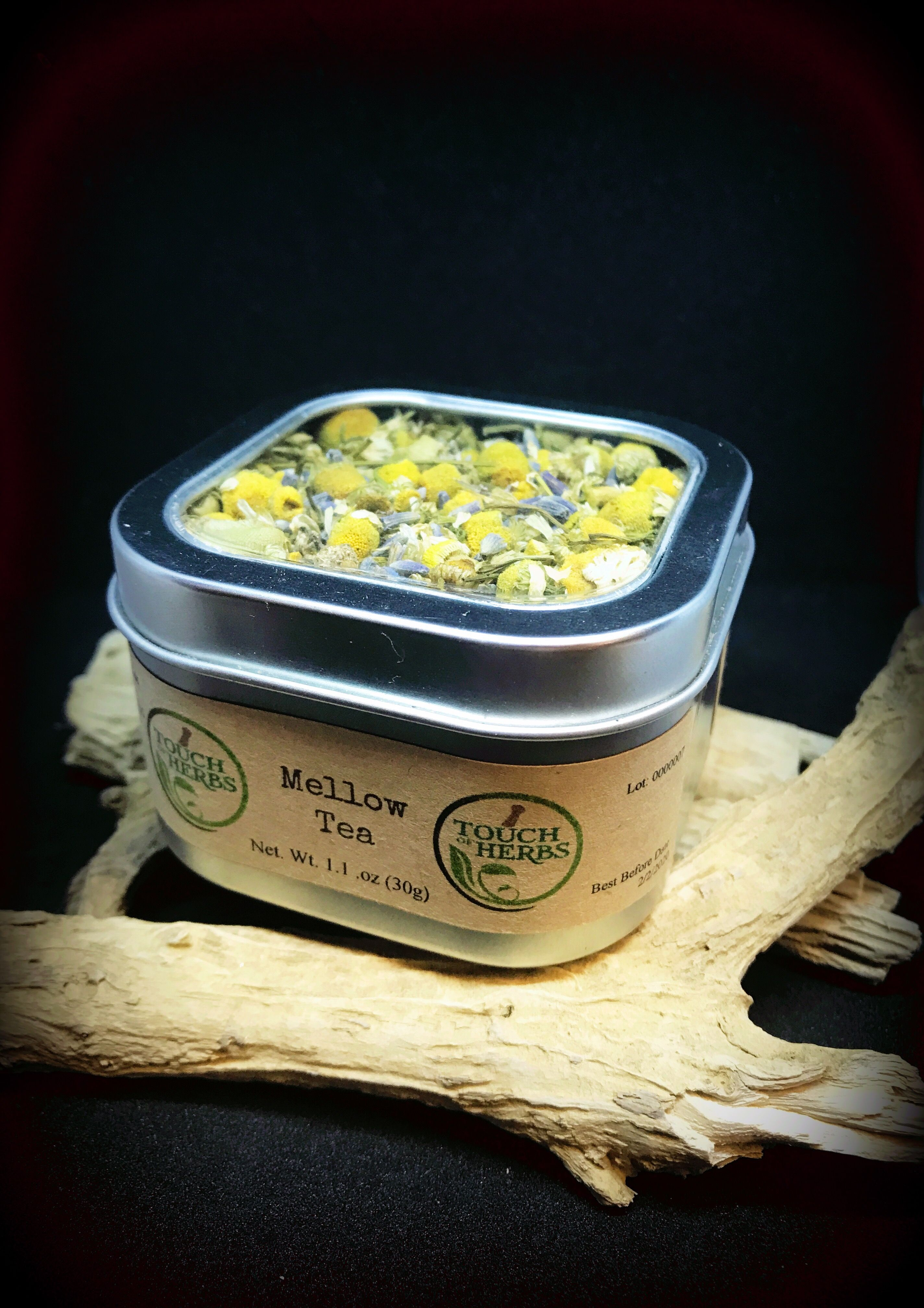 Best calming tea organic chamomile tea mix stress tea