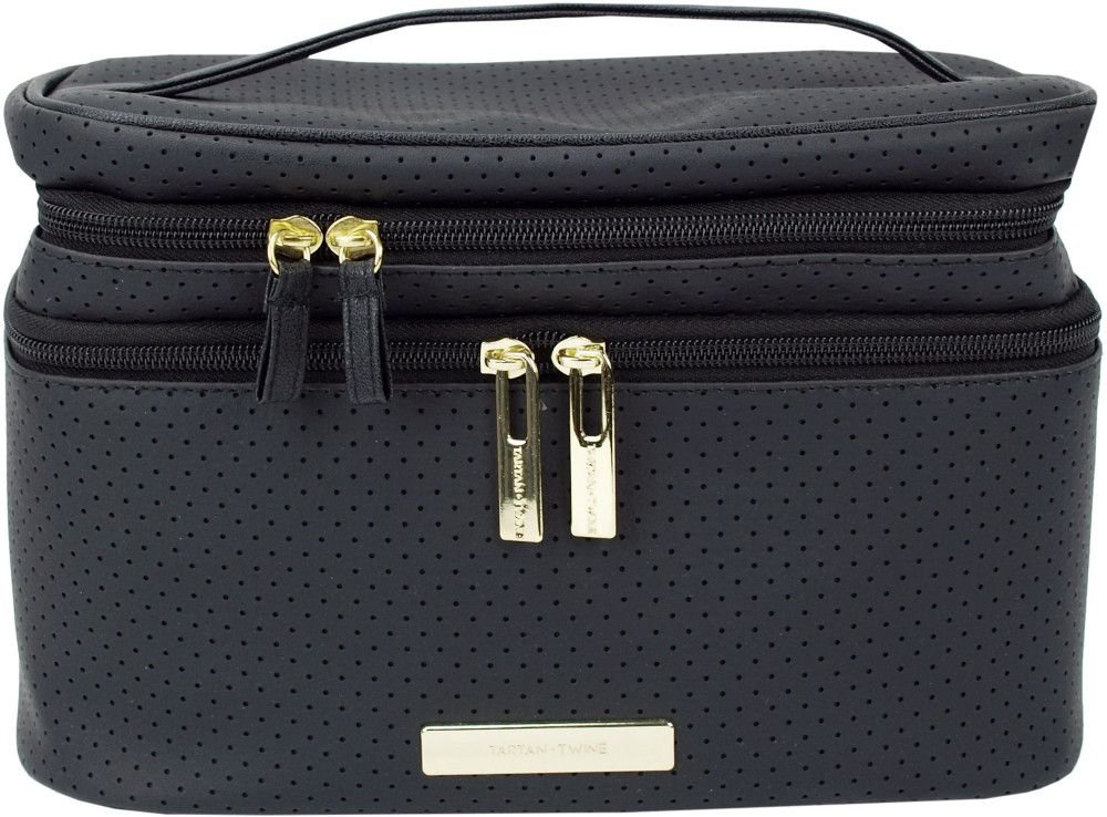 The Tartan Twine Double Zip Train Case Has Been Updated To Give Beauty Lovers More Ways To Keep Thier Collections Organized Ulta Ulta Beauty Beauty Gift
