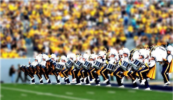 WVU Drumline    cold chills every time  Boogie Cadence