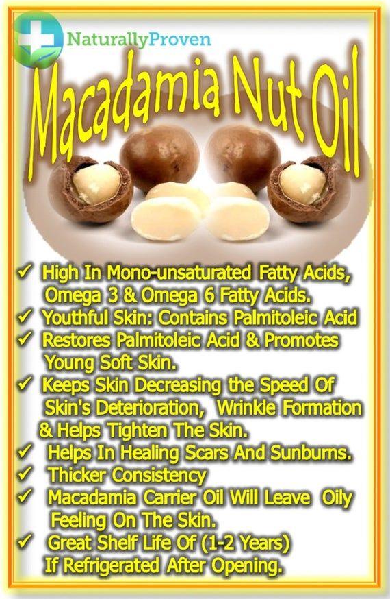 100 Pure Organic Macadamia Nut Oil Organic Cold Pressed Etsy In 2021 Macadamia Nut Oil Macadamia Nut Benefits Macadamia Nuts
