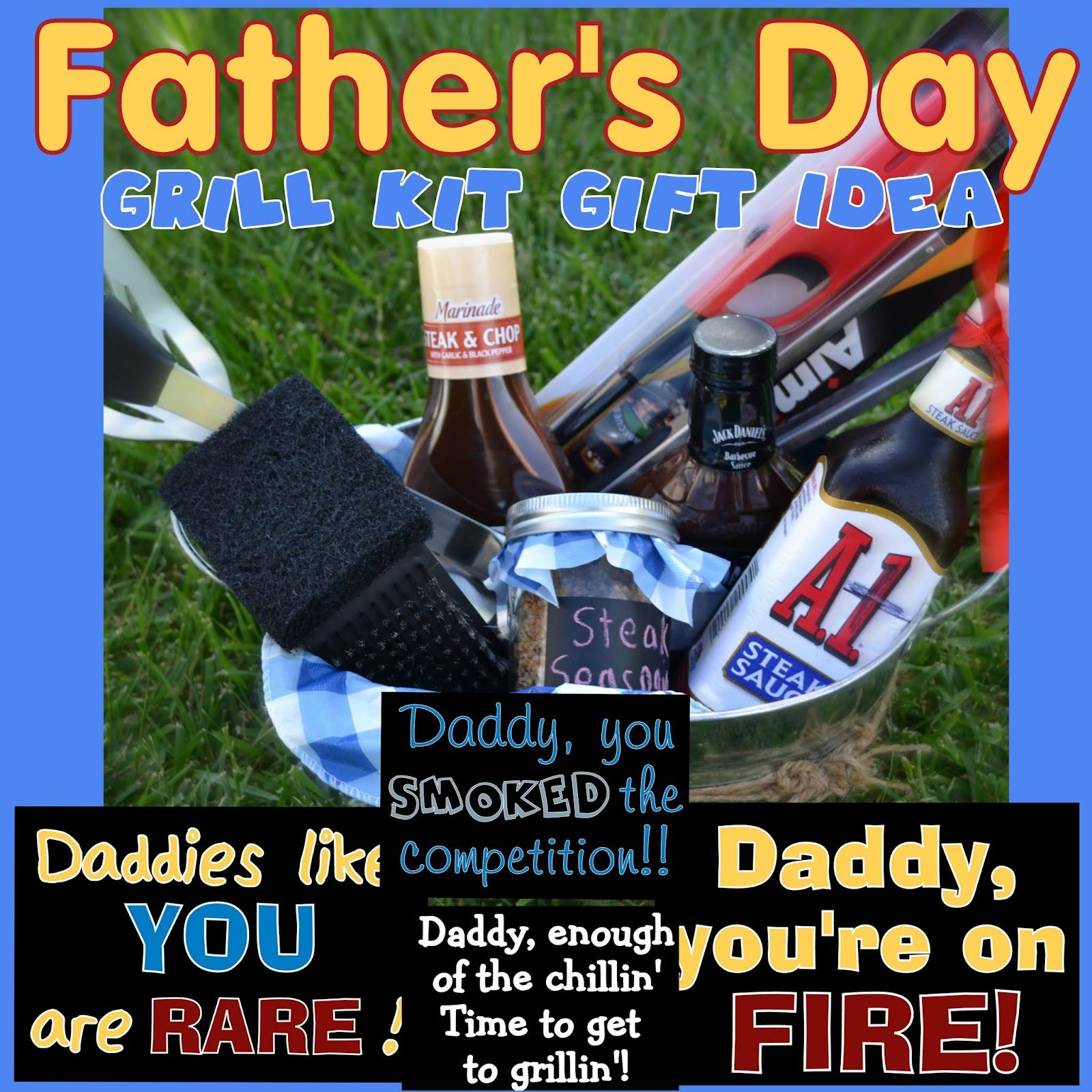 Father's Day Grill Kit #Gift Idea
