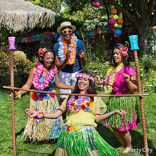 luau party games get low with the luau limbo luau 30761