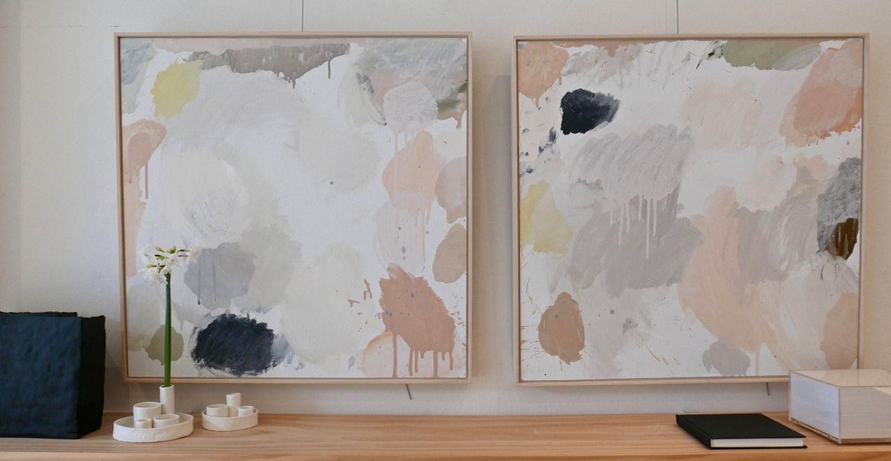 Inside wall painting, Inside wall painting II2015acrylic on linen ...