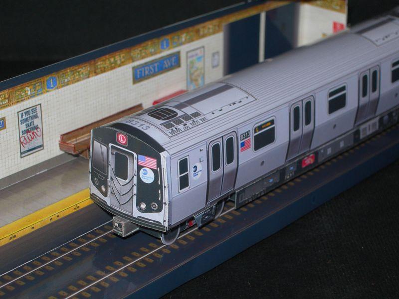 Alstom R160A4 Car Set