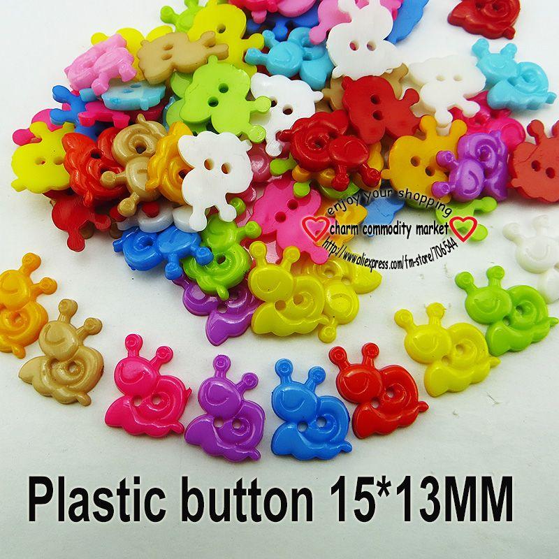 Горячая распродажа оптовая продажа смешанный цвет улитка форма 2 отверстия пластиковые кнопка Fit швейные скрапбукинг одежда швейные P191 купить на AliExpress